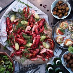 Celebrate Summer's End With IKEA's Swedish Crayfish Party ( a Cheese Pie Recipe! Cheese Pie Recipe, Cheese Pies, Pie Recipes, Seafood Recipes, Ikea, Fish Boil, Crawfish Party, Scandinavian Food, Swedish Recipes