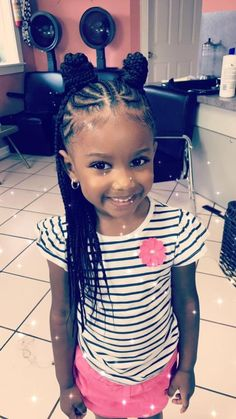 Little girls braiding styles