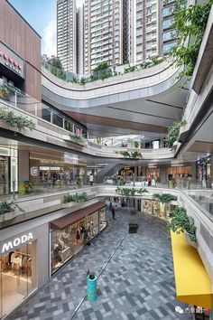 Shopping Mall Interior, Shopping Street, Street Mall, Shopping Mall Architecture, Plaza Design, Mall Design, Store Design, Commercial Complex, Commercial Street