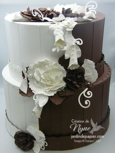 Marie-Lyne Vervoite Wedding Cake gorgeous.