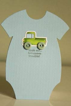 Another cute Onesie card!  #PTI