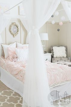 Cute decorating ideas for girls bedroom