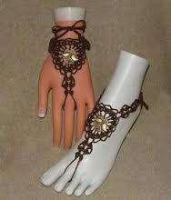 Resultado de imagen para sandalias para pies descalzos en crochet