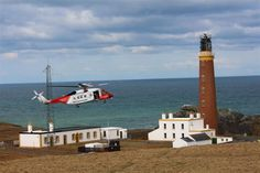 19th March 2013 - Stornoway Coastguard Mu  @ the Butt of Lewis. 13:00. — at Butt Of Lewis Lighthouse.