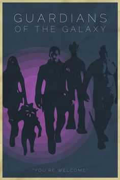 Guardians of the Galaxy Alt Poster from offpar.tumblr.com