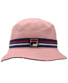 59ac90e1e8f88 Fila Cotton Reversible Cotton Bucket Hat   Reviews - Women s Brands - Women  - Macy s