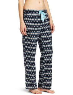 43c215473a Nautica Sleepwear Women s Fairaisle Anchor Pant Nautica