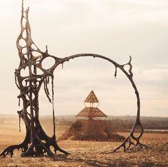 75 Burning Man Photos That'll Blow Your Mind Burning Man Images, Burning Man 2017, Burning Man Art, Burning Man Sculpture, Sculpture Art, Georges Clemenceau, Les Reptiles, Temple Design, Man Projects