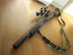 M14 Silencer Mod. Ideal mid-to-long range solution.