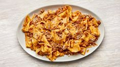 It doesn't take a lot of ingredients (or a lot of money) to make a classic Bolognese recipe. What it does take, though, is patience for the sauce to achieve the ideal authentic texture. You're going to go low and slow—it'll take around 3 hours, but most of that cook time is hands-off.