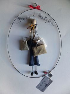 Sculptures Sur Fil, Mobiles, Bijoux Fil Aluminium, Cotton Decor, 3d Craft, Wire Crafts, Wire Art, Metal Art, Art Dolls