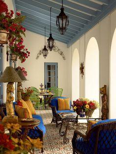 Spanish Interior Design home decorating ideas - the spanish style | terracotta floor