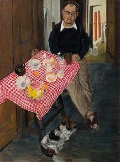 Jean Cooke, Portrait of John Bratby on ArtStack #jean-cooke #art