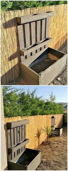 How about using the wood pallet for some ideal designing of the planter design set? Isn't it great? Well, grab this mind-blowing idea of the wood pallet planter design work where the incorporation of the planks arrangement over one another is incredibly giving it an excellent view look.