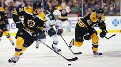 Bruins forward Loui Eriksson netted three goals and Boston skated to a home win on Thursday night.