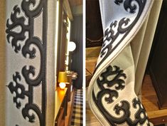 Holland & Sherry Bespoke...Drapery details.. oh my goodness... heaven!