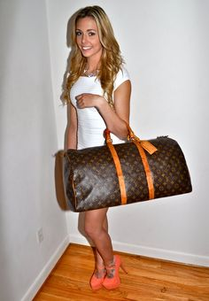 Make an Offer LOUIS VUITTON Keepall 55 Duffel Bag by louise49, $525.00