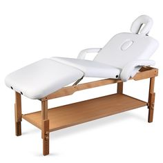 3 Sections Professional Stationary Massage Table Bed Beauty Therapy Salon Couch >>> Check out this great product.