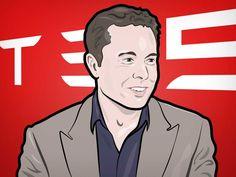 Elon Musk, founder of Tesla.