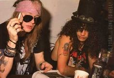Axl Rose & Slash - Axl Rose and Slash Photo (10705184) - Fanpop