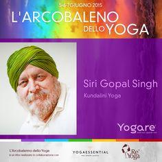Siri Gopal Singh ci guiderà in una pratica di Kundalini Yoga, durante il pomeriggio di sabato. Info