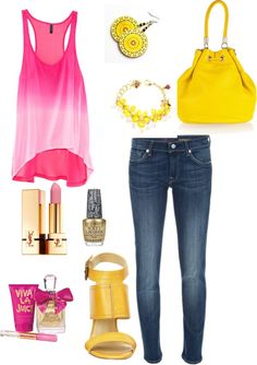 summer dream outfit, created by mylycita on Polyvore