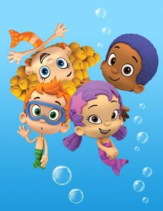 Some of the Bubble Guppy crew Bubble Guppies Cake, Bubble Guppies Birthday, Guppy, 3rd Birthday, Birthday Parties, Birthday Clipart, My Baby Girl, Party Time, First Birthdays