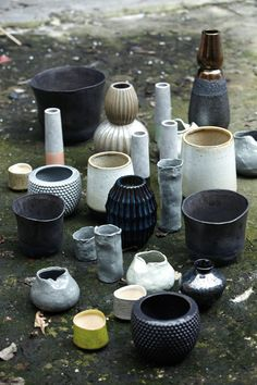 ceramic vessels, I want to learn how to do this so bad!!