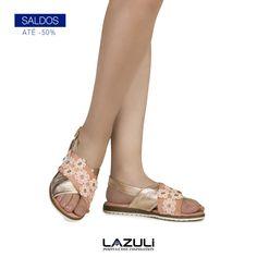 🔹 SALDOS 🔹  #lazuli #portugueseinspiration #lazulishoes #sale #saldos #descontos #shoes #shoelover #footwear  #shoponline #shopping #shoponline Lazuli, Espadrilles, Spring Summer, Footwear, Sandals, Shopping, Shoes, Fashion, Espadrilles Outfit