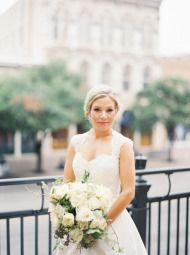 Downtown Austin Wedding at the Intercontinental Stephen F. Austin on Style Me Pretty.