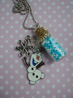 Wonderful Glass-bottle Kawaii Candy Charm necklace! https://www.etsy.com/listing/206830086/frozen-kawaii-candy-sprinkles-winter