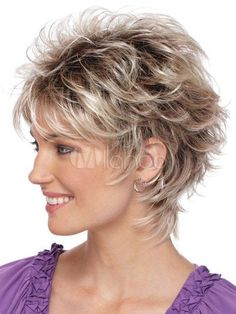 Startling Useful Tips: Wedding Hairstyles Brunette short pixie hairstyles.Boho Hairstyles Dreads women hairstyles over 50 photo galleries.Women Hairstyles Over 50 Photo Galleries. Short Hair Wigs, Cute Hairstyles For Short Hair, Wig Hairstyles, Curly Hair Styles, Layered Hairstyles, Hairstyle Ideas, Feathered Hairstyles, Hairstyles 2016, Updo Hairstyle
