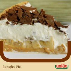 """430 curtidas, 11 comentários - Açúcar União (@acucaruniao) no Instagram: """"O nome pode ser estranho, mas fazer uma deliciosa Banoffee Pie não é difícil. Esta sobremesa típica…"""""""