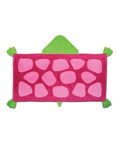 Another great find on #zulily! Turtle Hooded Towel, $15 !!   #zulilyfinds