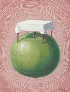 Rene Magritte (1898-1967) Les belles réalités Rene Magritte ( 1898 - 1967 ) More At FOSTERGINGER @ Pinterest