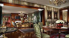The suite at Rome Cavalieri hotel, Italy