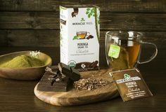 Our #organic #chocolate #moringa #tea is a sugar-free delight with a smooth cocoa taste! #yummy #chocolove #wellness