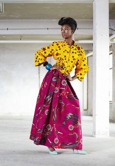 Vlisco Funky Grooves  ~African fashion, Ankara, kitenge, African women dresses, African prints, African men's fashion, Nigerian style, Ghanaian fashion ~DKK