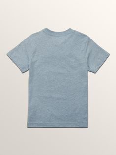 Volcom Little Boys Line Tone Short Sleeve Tee - Heather Black 2T