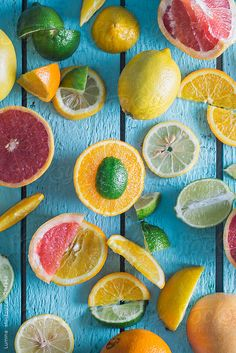 Citrus Fruits by Lumina