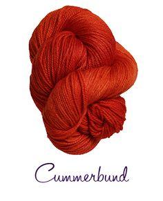 Cummerbund from Lorna's Laces.