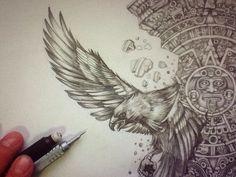 Águila que desciende
