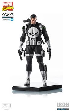Iron Studios Punisher - Scale Statue for sale online Punisher Marvel, Marvel Comics, Marvel Heroes, Marvel Dc, Comic Book Characters, Comic Book Heroes, Marvel Characters, Comic Character, 3d Figures