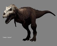 "The tyrannosaurus from ""Dinosaur Revolution"" has to be the most awesome, though unlikely, tyrannosaurus depictions out there."