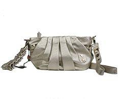 Christian Audigier Womens Ana Faux Crossbody Handbag 3PPU010FLA  List Price: $150.00 Buy Now: $29.99