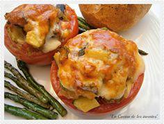 La Cocina de los inventos: Tomates rellenos de verduras