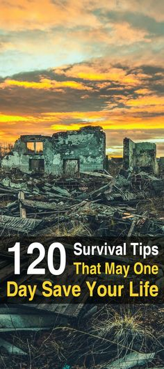 The writers over at Survival Sullivan have put together one of the longest lists of survival tips I've ever seen. And they're not just generic tips.