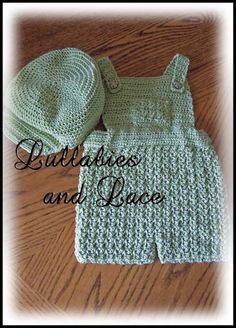 Snips and Snails Ensemble Crochet Pattern