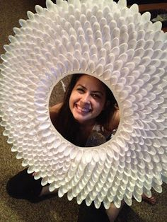 Be Chic. Be Classy. Be Creative.: DIY Sunburst Spoon Mirror