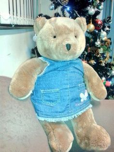 Found on 23/12/2014 @ On train, London to Holyhead. Teddy found on train, please contact @VTHolyhead (via twitter) Visit: https://whiteboomerang.com/lostteddy/msg/a9q07k (Posted by Virgin Trains HHD on 24/12/2014)